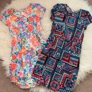 LuLaRoe Bundle: 2 Mae dresses.